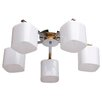 MW Handel GmbH Megapolis 5 Light Semi Flush Ceiling Light