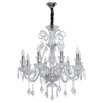 MW Handel GmbH 8 Light Candle Chandelier
