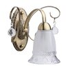 MW Handel GmbH 1 Light Classic Armed Sconce