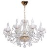 MW Handel GmbH 8 Light Candle-Style Chandelier