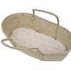 "Wendy Anne 26""L Cotton Moses Basket 1.5"" Bassinet Mattress"