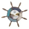 Prinz Home Port Ship's Wheel Picture Frame