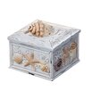 Prinz Seashells and Starfish Sand Piper Box
