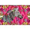 NEXT! BY REINDERS Wandbild Melli Mello zebra Grafikdruck