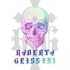 NEXT! BY REINDERS Roberto Geissini Skull Colorfull Photographic Print