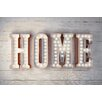 NEXT! BY REINDERS Deco Panel Home - 60 x 90 cm