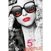 NEXT! BY REINDERS Mädchen von der 5. Avenue Photographic Print