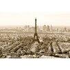 NEXT! BY REINDERS Deco Panel Paris in sepia - 60 x 90 cm