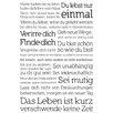 NEXT! BY REINDERS Du Lebst Nur Einmal Graphic Print