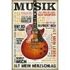 NEXT! BY REINDERS Wandbild Musik ist Leidenschaft Grafikdruck