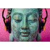 NEXT! BY REINDERS Deco Panel Michael Tarin buddha music chill - 60 x 90 cm