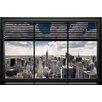 NEXT! BY REINDERS Deco Panel New York Fenster Lamellen - 60 x 90 cm