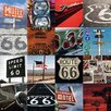 NEXT! BY REINDERS Route 66 Mozaik II Photographic Print