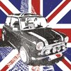 NEXT! BY REINDERS Union Jack Mini Graphic Art