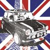 NEXT! BY REINDERS Deco Block 'Union Jack Mini', Bilddruck