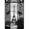 NEXT! BY REINDERS XXL Poster 'Der Eiffelturm', Fotodruck