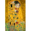 NEXT! BY REINDERS The Kiss by Gustav Klimt Painting Print XXL Poster