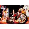 NEXT! BY REINDERS XXL Poster 'Fahrer in der Nacht', Fotodruck