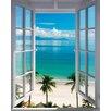 NEXT! BY REINDERS Deco Panel 'Strand Fenster', Fotodruck