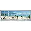 NEXT! BY REINDERS Deco Panel 'Strand Fenster Panorama', Fotodruck