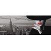 NEXT! BY REINDERS Leinwandbild 'Blick auf die Skyline', Bilddruck