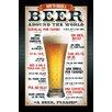 NEXT! BY REINDERS Deco Panel Bier Bitte, Retro-Werbung