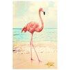 NEXT! BY REINDERS Deco Panel Flamingo, Grafikdruck