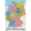 NEXT! BY REINDERS Wandbild Deutschland Politisch 2011