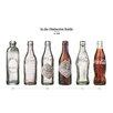 NEXT! BY REINDERS Deco Panel Coca-Cola Flasche-Entwicklung II, Grafikdruck