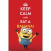 NEXT! BY REINDERS Deco Panel Minions keep calm, Grafikdruck