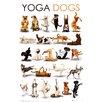 NEXT! BY REINDERS Deco Panel Yoga Hunde, Grafikdruck