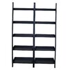 "International Concepts 75.5"" Leaning Bookcase (Set of 2)"