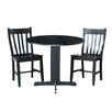 International Concepts 3 Piece Dining Set