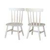 International Concepts Juvenile Tot's Kids Desk Chair (Set of 2)