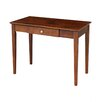 International Concepts Writing Desk with Storage Drawer