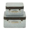 August Grove 2 Piece Classy Box Decorative Set