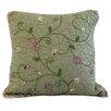 August Grove Colette Crochet Cotton Throw Pillow