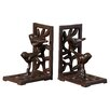August Grove Cast Iron with Bird Book Ends (Set of 2)