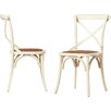 August Grove Essie Cross Back Side Chair (Set of 2)