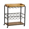 House Of Hampton Alsager Serving Cart