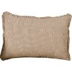 August Grove Zona Stripe Cotton Lumbar Pillow