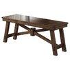August Grove Marni Wood Kitchen Bench