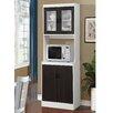 August Grove Elva Kitchen Cabinet in White