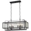 August Grove Pine Haven 8 Light Kitchen Island Pendant