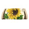 August Grove Swan Valley Sunflower Bath Towel