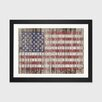 August Grove American Flag Framed Graphic Art