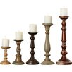 One Allium Way Bernadine 5 Piece Candlestick Set