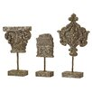 One Allium Way Edgerton 3 Piece Decorative Finials Set