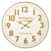 "One Allium Way 36"" Oversized Wall Clock"