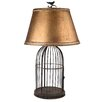 "One Allium Way Esley Birdcage 30"" Table Lamp"